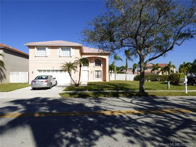 Pembroke Pines Single Family Home Active With Contract: 18737 NW 13th Ct
