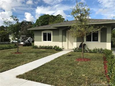 Miami Single Family Home For Sale: 1153 NW 47th St