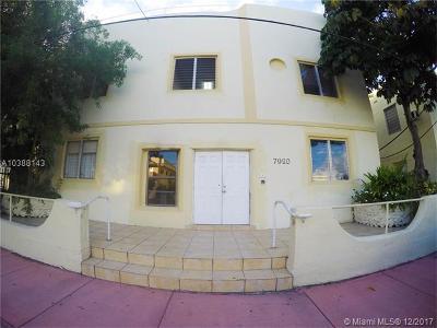 Miami Beach Condo For Sale: 7920 Harding Ave #5