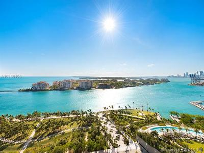 Miami Beach Condo For Sale: 300 S Pointe Dr #2404