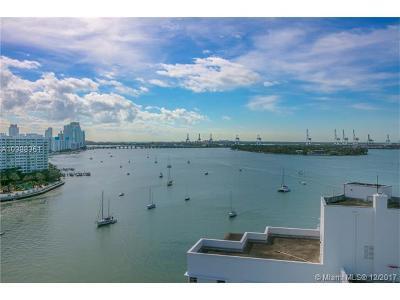 Miami Beach Condo For Sale: 20 Island Ave #1401
