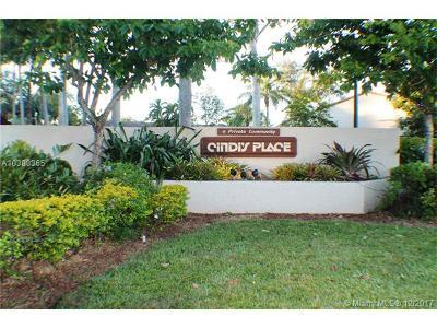 Miami Condo For Sale: 13600 SW 102nd Ln #13600