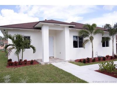 Miami Single Family Home For Sale: 2269 NW 95th Terrace