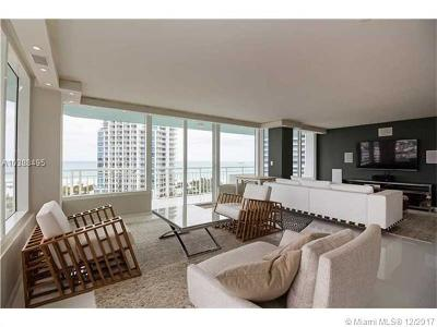 Miami Beach Condo For Sale: 400 S Pointe Dr #1510