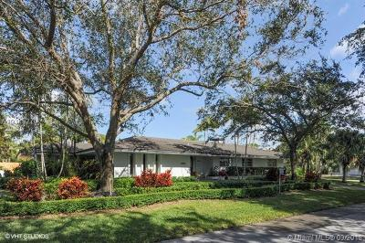Coral gables Single Family Home For Sale: 6455 Mahi Dr