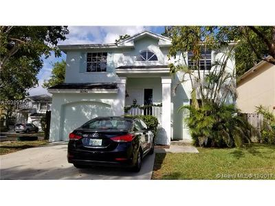Single Family Home For Sale: 11797 SW 99th St