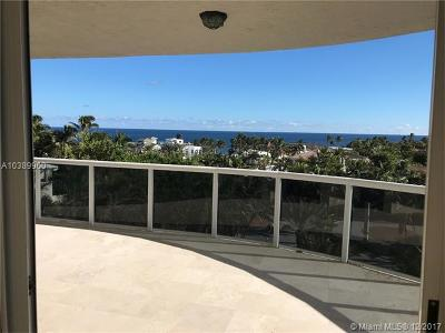 fort lauderdale Condo For Sale: 3100 N Ocean Blvd #608