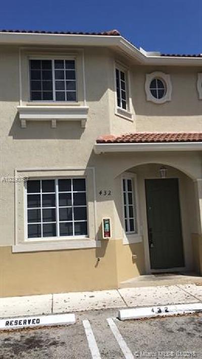 Miami Gardens Condo For Sale: 21109 NW 14th Pl #4-32