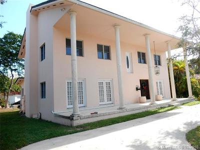 Miami Shores Single Family Home For Sale: 9655 Biscayne Blvd