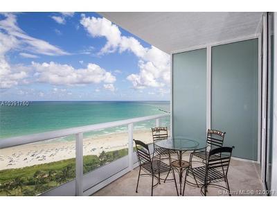Miami Beach Condo For Sale: 100 S Pointe Dr #1807