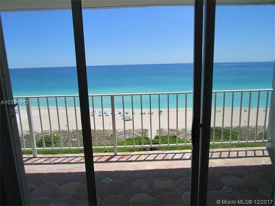 Miami Beach Condo For Sale: 5701 Collins Ave #1104