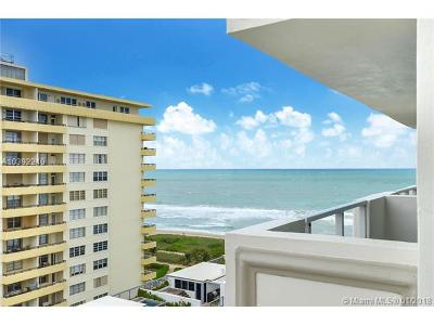Surfside Condo For Sale: 9499 Collins Ave #1008