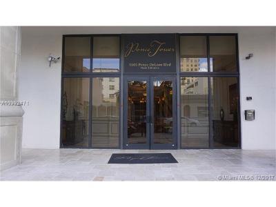 Coral Gables Condo For Sale: 1805 Ponce De Leon Blvd #PH-1510