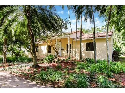 Coral Gables Single Family Home For Sale: 629 Sunset Dr