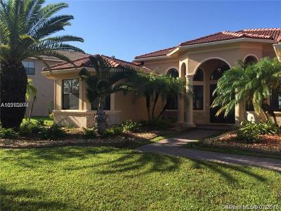 Harbour Lakes Estates, Harbour Lakes Estates 169 Single Family Home For Sale: 18530 SW 17 Court