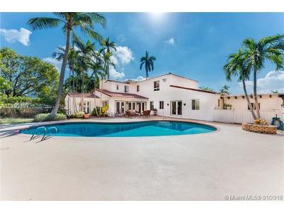 Miami Beach Single Family Home For Sale: 5100 Alton Rd