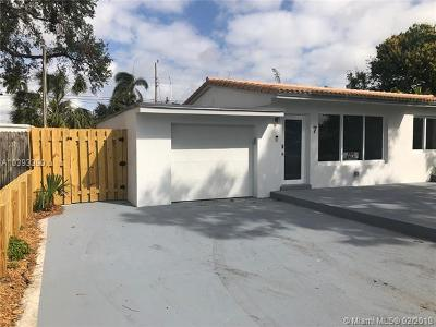 Wilton Manors Single Family Home For Sale: 7 NE 26th Ct