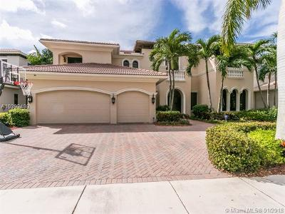 boca raton Single Family Home For Sale: 9636 Bridgebrook Dr