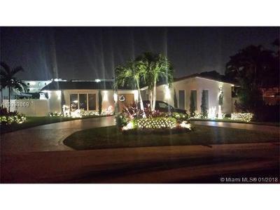 North Miami Single Family Home For Sale: 11655 NE 20th Dr