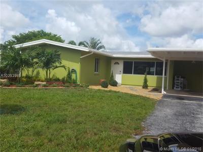 Fort Lauderdale Single Family Home For Sale: 2443 Marathon Ln