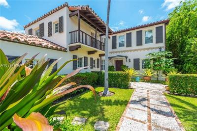 Miami, Miami Beach Single Family Home For Sale: 403 E Dilido Dr