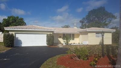 Pompano Beach Single Family Home For Sale: 231 SW 17th St