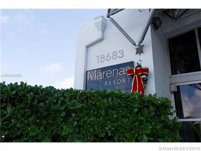 Sunny Isles Beach Condo For Sale: 18683 Collins Ave #1007