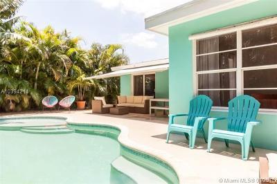Oakland Park Single Family Home For Sale: 4630 NE 15th Ter
