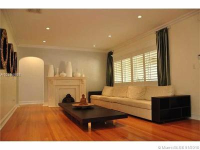 Hollywood Single Family Home For Sale: 1357 Monroe St