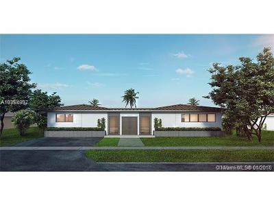 North Miami Single Family Home For Sale: 2305 Magnolia Dr