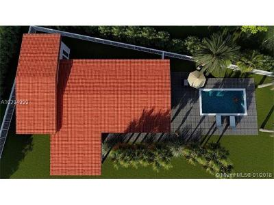 North Miami Single Family Home For Sale: 1965 S Hibiscus Dr