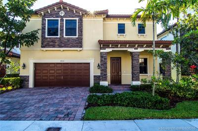 Doral Single Family Home For Sale: 8915 NW 99th Ave