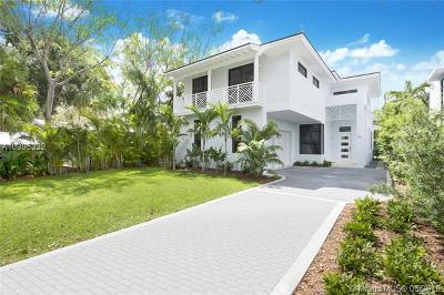 Coconut grove Single Family Home For Sale: 3630 Avocado Ave
