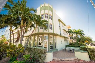 Miami Beach Condo For Sale: 4025 Indian Creek Drive #101