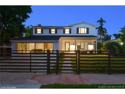 Miami Beach Single Family Home For Sale: 5939 La Gorce Dr