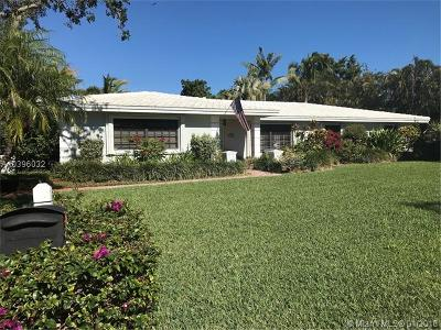 Palmetto Bay Single Family Home For Sale: 7625 SW 180th Ter
