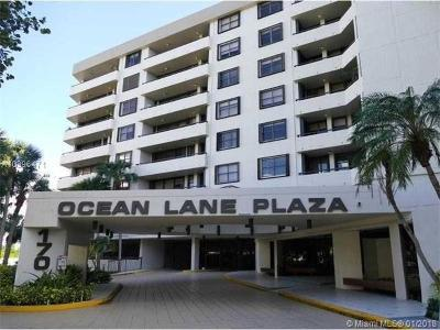Key Biscayne Condo For Sale: 170 Ocean Lane Dr #705