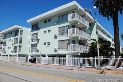 Miami Beach Condo For Sale: 1400 Pennsylvania Ave #16