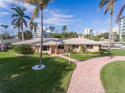Fort Lauderdale Single Family Home For Sale: 3115 NE 27th St