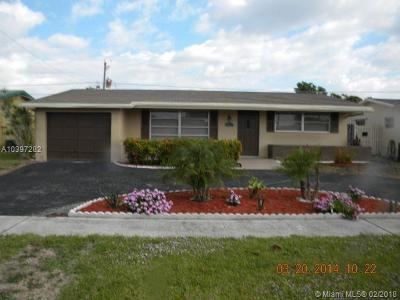Sunrise Single Family Home For Sale: 9321 NW 26th St