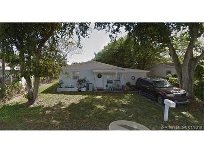 Fort Lauderdale Single Family Home For Sale: 4070 SW 49th Ct