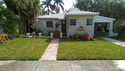 Miami Shores Single Family Home For Sale: 694 NE 88th St
