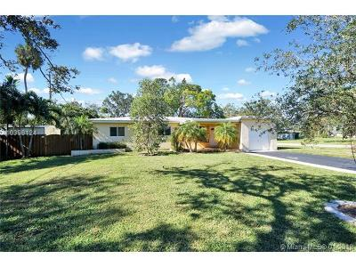 Fort Lauderdale Single Family Home For Sale: 1601 Riverland Rd