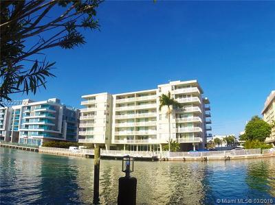 Bay Harbor Islands Condo For Sale: 9500 W Bay Harbor Dr #2G