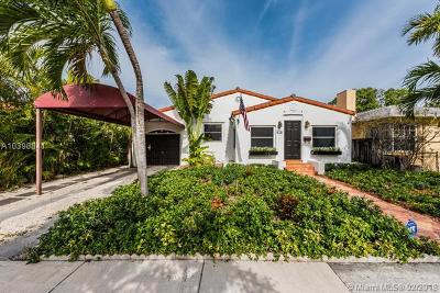 Miami Single Family Home For Sale: 525 NE 72nd St
