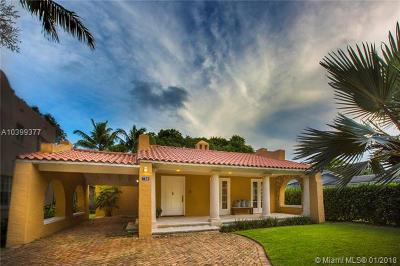 Coral Gables Single Family Home For Sale: 728 Alhambra Cir