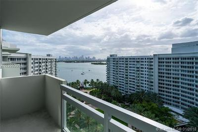 Miami Beach Condo For Sale: 1500 Bay Rd #1566S