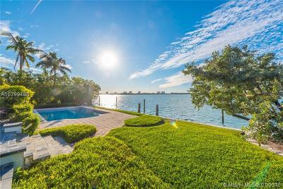 Bay Harbor Islands Single Family Home For Sale: 10130 W Broadview Dr