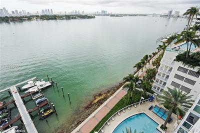 Miami Beach Condo For Sale: 650 West Ave #1001