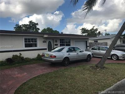 Sunrise Single Family Home For Sale: 2341 NW 60th Ave